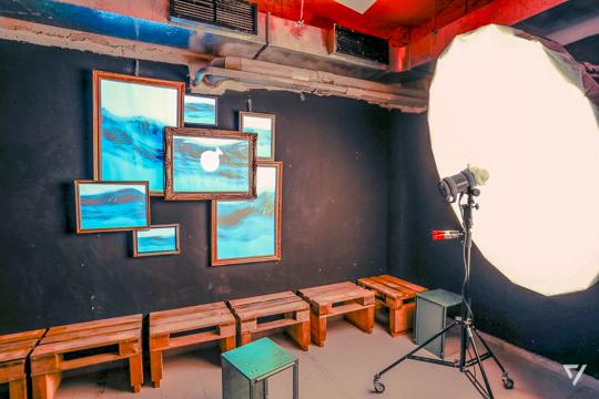 münchen VJ, Art Installation, Kabumm