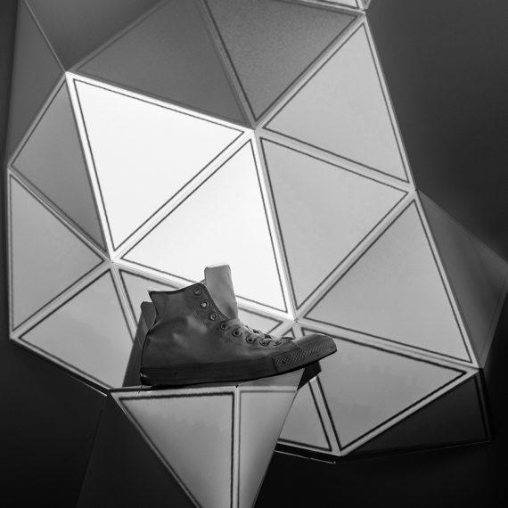 Video Mapping Triangle Olga Modul8 MadMapper VJ Munich München installation